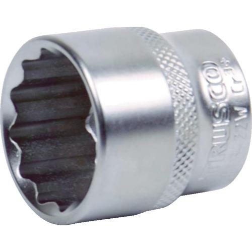 TRUSCO ソケット(12角) 差込角9.5 対辺13mm TS3-13W