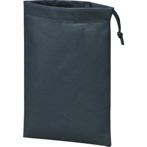TRUSCO 不織布巾着袋10枚入 黒 260X180MM TNFD-10-S