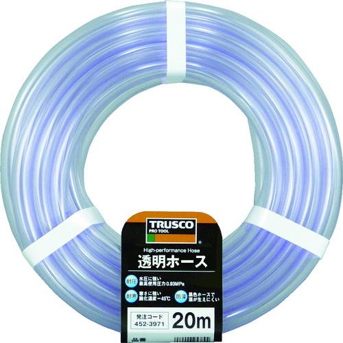 TRUSCO 透明ホース6×8 20mカット TTM68C20