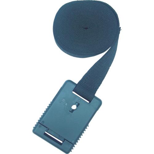 TRUSCO 樹脂バックル付結束ベルト 鍵付Aタイプ 25mm TIBKLSMA25