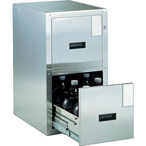 TRUSCO 耐震薬品庫 455X600XH800 2段引出型SY2