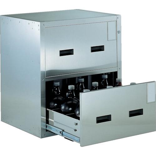 TRUSCO 耐震薬品庫 705X600XH800 2段引出型SYW2