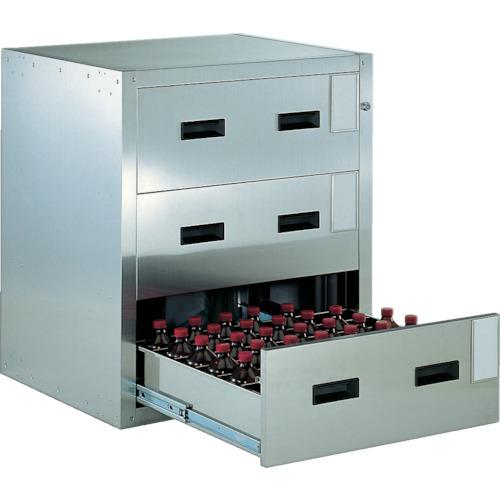 TRUSCO 耐震薬品庫 705X600XH800 3段引出型SYW3